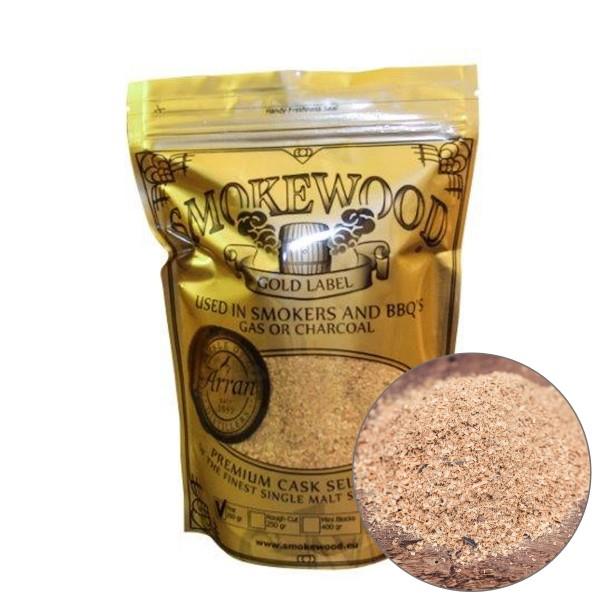 Smokewood Ilse of Arran Fine- Räucher Mehl aus alten Bourbonfässer
