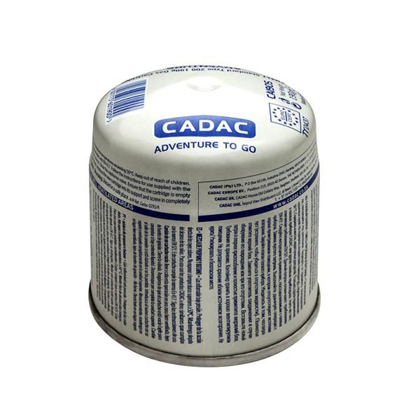 CADAC 190g Stech Gas-Kartusche (190g Butan-Propan-Gemisch) - Stechkartusche EN417
