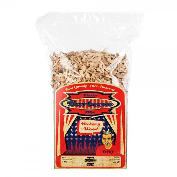 Axtschlag Hickory Chips 1 Kg