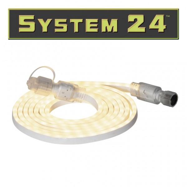 System 24 | LED Lichtschlauch | 180 LEDs, warmweiß | koppelbar | exkl. Trafo | 3m | outdoor