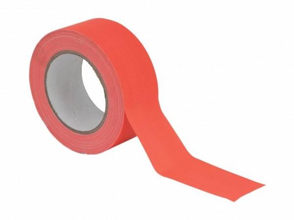 UV Gaffa Tape neonorange - 50mm x 25m - Schwarzlicht Aktives Gewebeband
