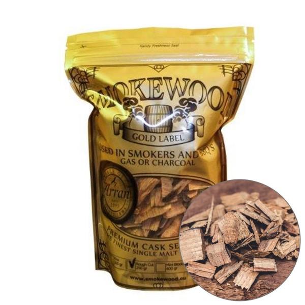 Smokewood Isle of Arran Rough Cut - Räucherholz aus alten Bourbonfässer