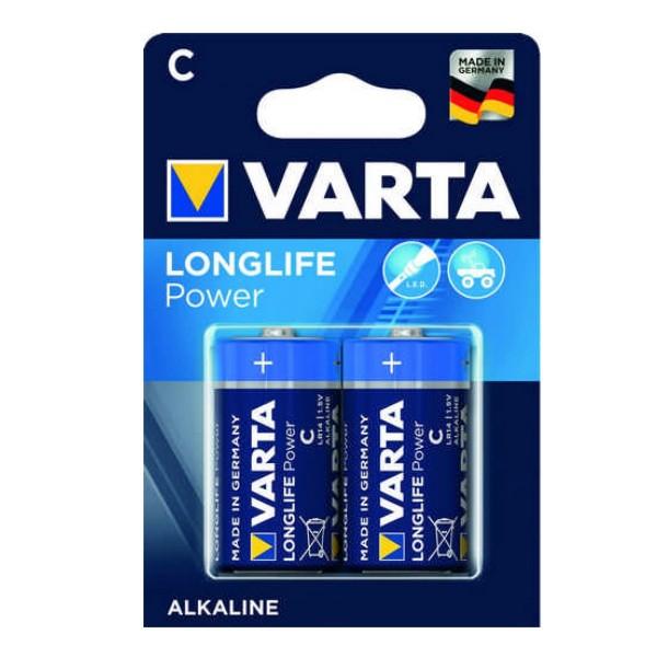 Varta Batterie Baby C - 2 Stück - Typ: LR14 - 1,5V - Longlife Power