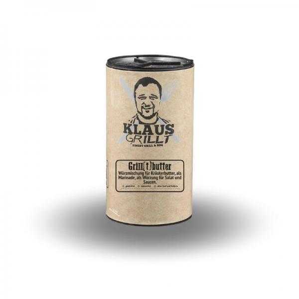 Klaus Grillt Grill[t]butter 80 g Streuer - Gewürzmischung für Grillbutter