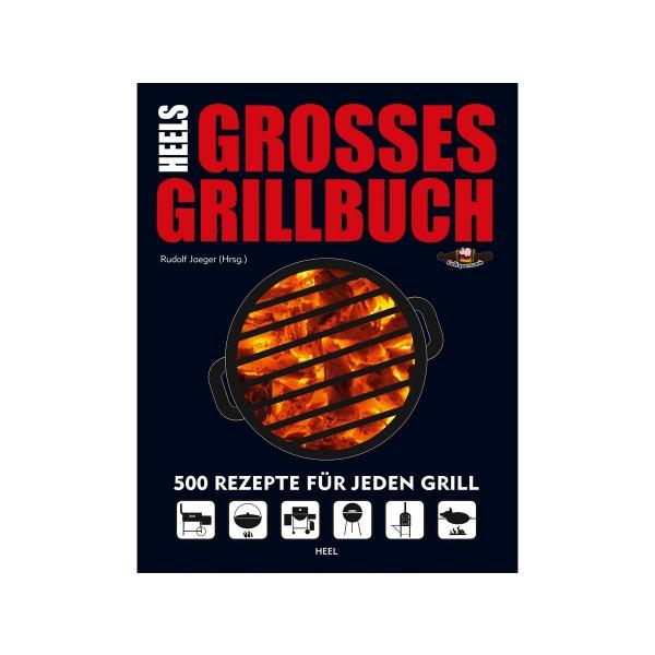 Heels Großes Grillbuch - 500 Rezepte - Rudolf Jäger - Heel Verlag