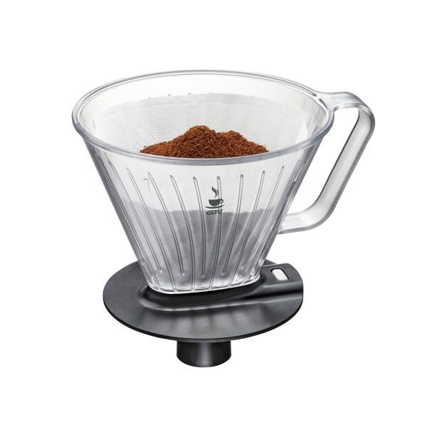 Kaffeefilter mit Automatik-Tropfsystem - Gr.4 - Automatik Stop beim Anheben