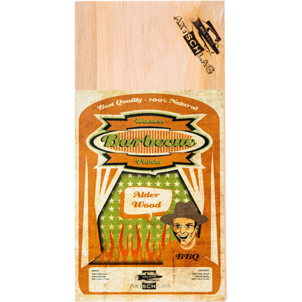 Axtschlag Adler Erle Wood Planks Grillbretter