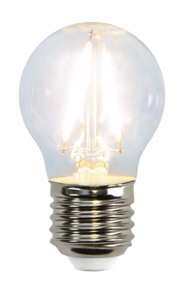 LED Tropfenlampe FILA G45 - E27 - 2W - warmweiss 2700K - 250lm - klar