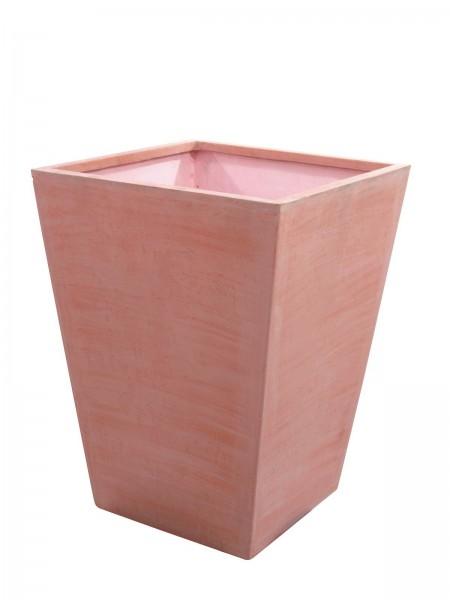 Übertopf terracotta Optik - Höhe 69cm - witterungsbeständig für Innen und Aussen