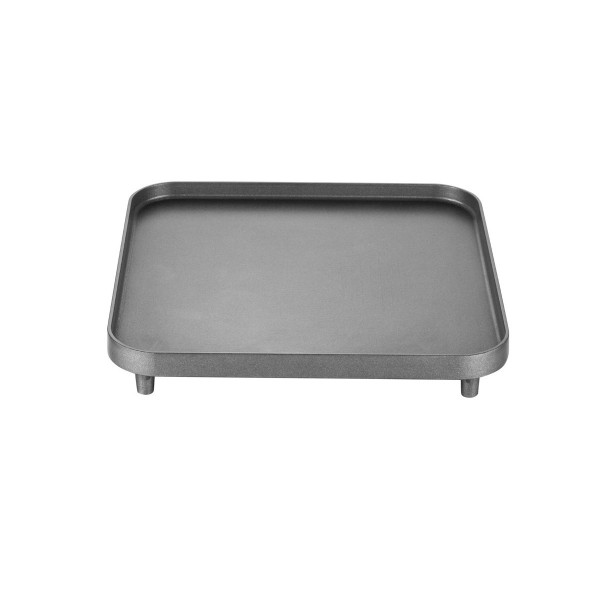 CADAC Glatte Platte für 2-COOK Campingkocher - 25x25cm - GreenGrill Oberfläche