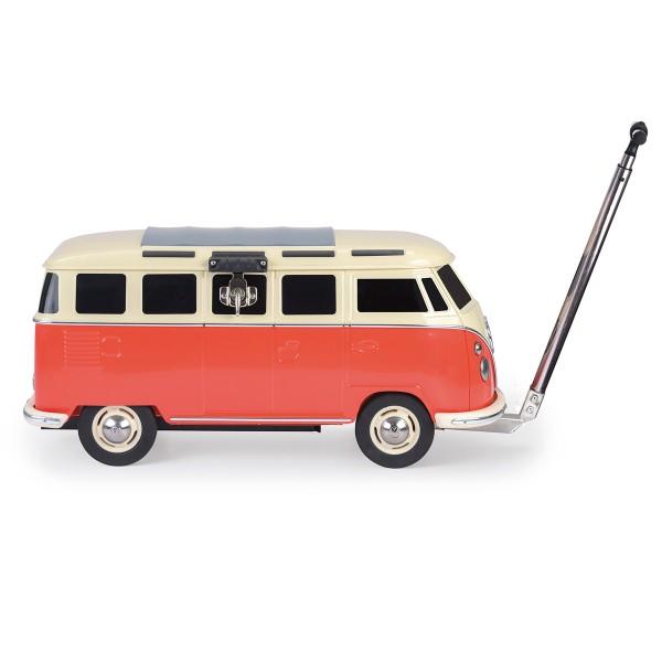 VW Collection - VW T1 Bus - fahrbare Kühlbox - 30 Liter - rot