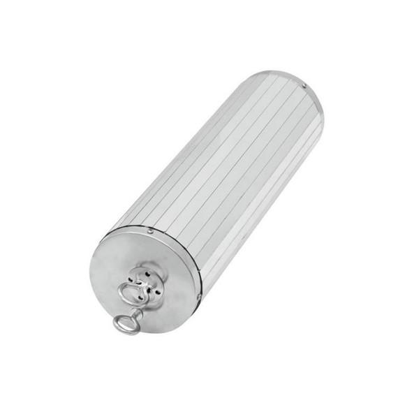 Spiegelzylinder 30cm - D: 9cm - Stabiler Kunststoffkern - mit zweiter Sicherheitsöse