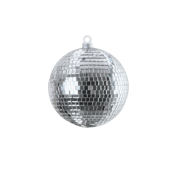 Spiegelkugel silber - Diskokugel (Discokugel) zur Dekoration - Echtglas - mirrorball silver