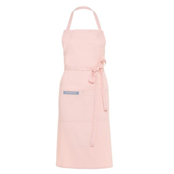 Feuermeisterin Premium Textil Back- und Kochschürze Rosa mit 2 Taschen