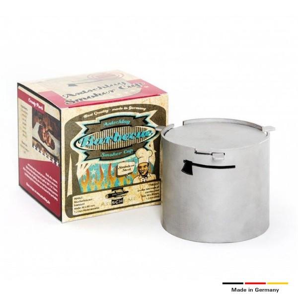 Axtschlag Smoker Cup - Räucherbox aus Edelstahl