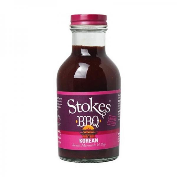 STOKES BBQ Sauce Korean 256 ml