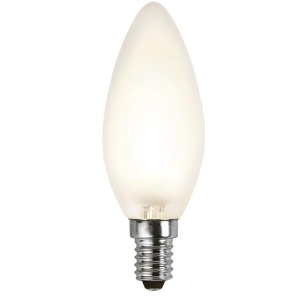 LED Kerzenlampe FILA C35 - E14 - 4W - WW 2700K - 320lm - gefrostet - dimmbar