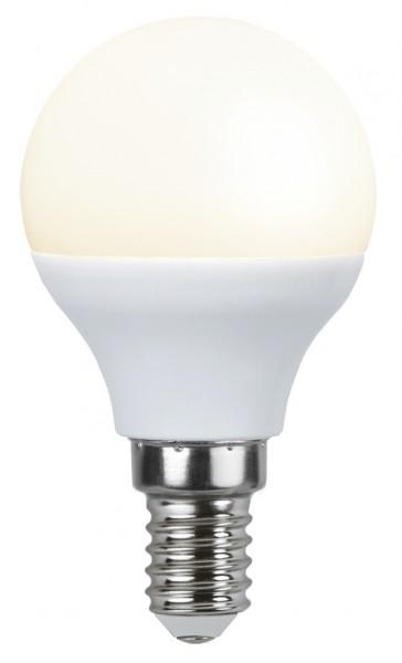 LED Kugellampe - P45 - 3W - warmweiss 3000K - E14 - 250lm - gefrostet