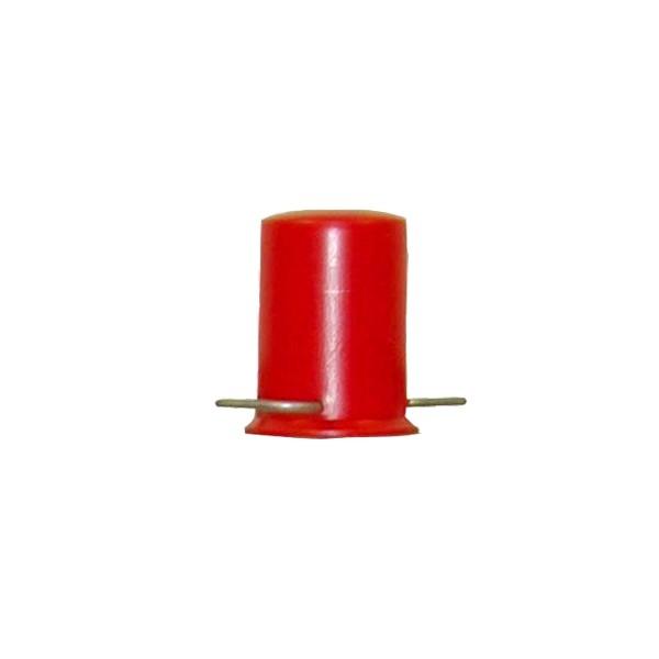Gasflaschen Abdeckkappe rot - geeignet für 5kg und 11kg Gasflaschen - mit Verriegelung