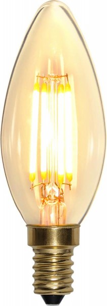 LED Kerzenlampe FILA GLOW - C35 - E14 - 4W - warmweiss 2100K - 350lm - dimmbar