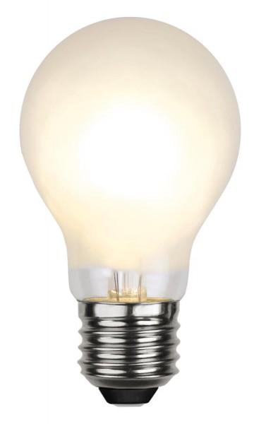 LED Tropfenlampe FILA A60 - E27 - 4W - WW 2700K - 350lm - gefrostet - dimmbar