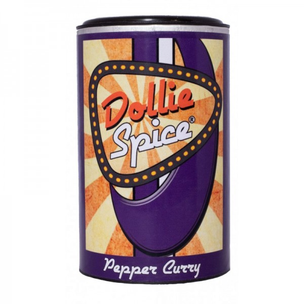 Dollie Spice - Pepper Curry - 120g Dose - Aromatische Zubereitung mit Pfeffer und Curry