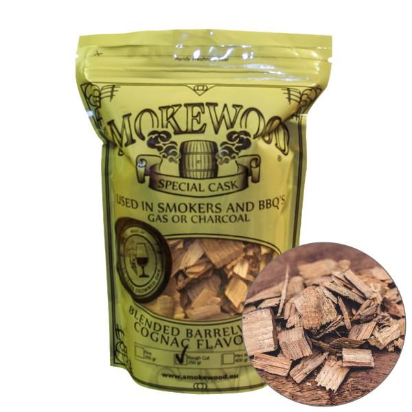 Smokewood Cognac Rough Cut Räucherholz aus ausgewählten Cognacfässer