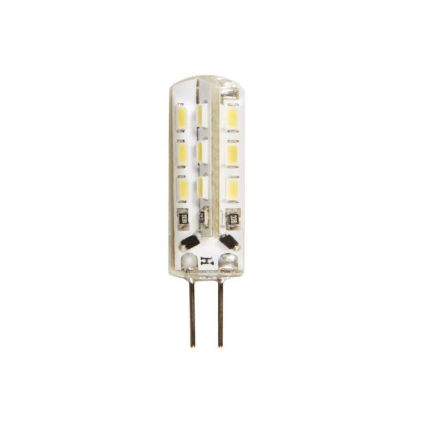 LED Leuchtmittel Stiftsockel G4 - 12V - 1,5W - 120lm - 3000K