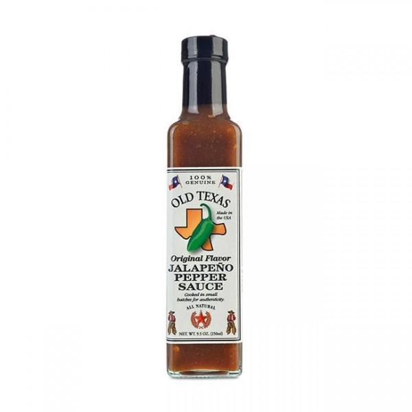 Old Texas Jalapeno Pepper Sauce 250ml scharfe Jalapeno-Chilischoten-Sauce