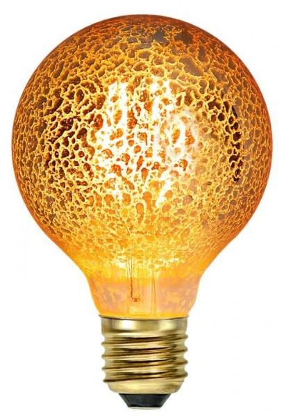LED GLOBE FILA GOLD G80 - E27 - 3,5W - warmweiss 1900K - 160lm
