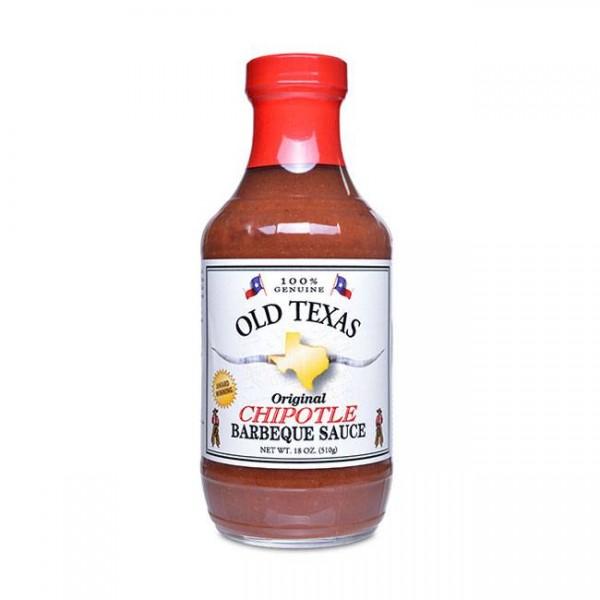 Old Texas Chipotle BBQ Sauce 455ml Grillsauce im Texan Style
