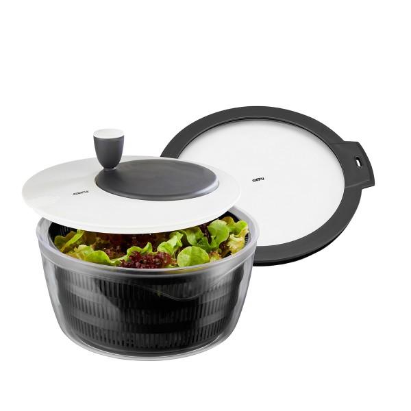 GEFU Set: Salatschleuder ROTARE inkl. Frischhaltedeckel