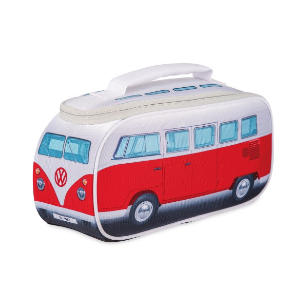 VW Collection - VW T1 Brotzeittasche ROT - 35x36x30cm - Isoliert & PU beschichtet