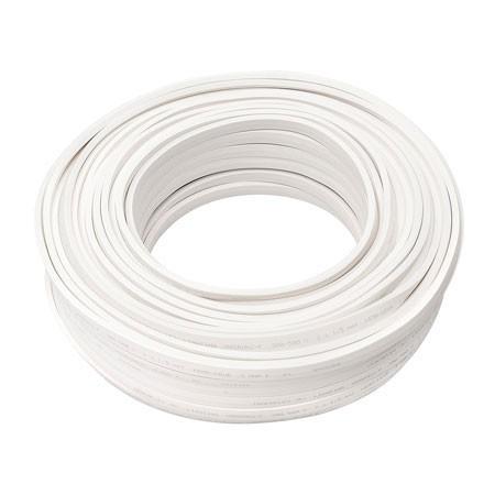 Illu Zubehör - Kabel weiß ohne Fassungen - H05RN-H2-F 2 x 1,5mm² - Meterware - 1m Schnittlänge