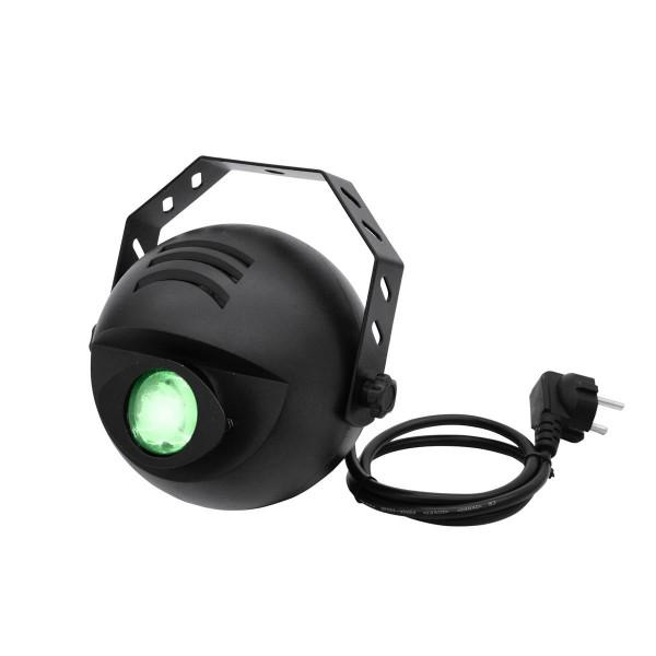 LED H2O Wassereffekt Projektor mit Fernbedienung - Simulation von bewegtem Wasser - 9W TRI LED