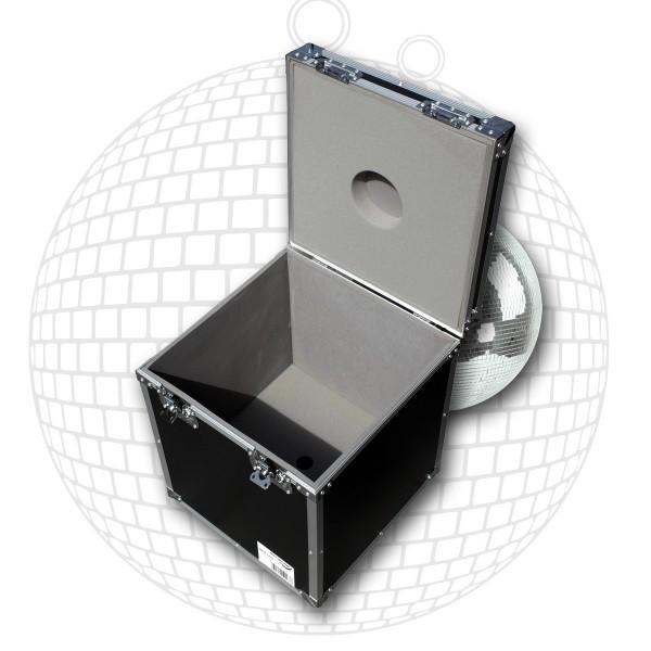 Flightcase für 40cm Spiegelkugel - Transportkiste Discokugel