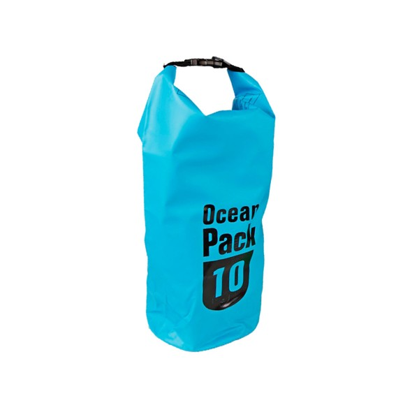 OCEAN PACK 10 Liter blau - wasserfester Beutel