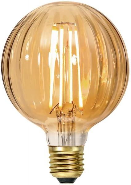 LED GLOBE FILA GLOW G95 - E27 - 2,5W - ultra-WW 2000K - 150lm - amber - dimmbar
