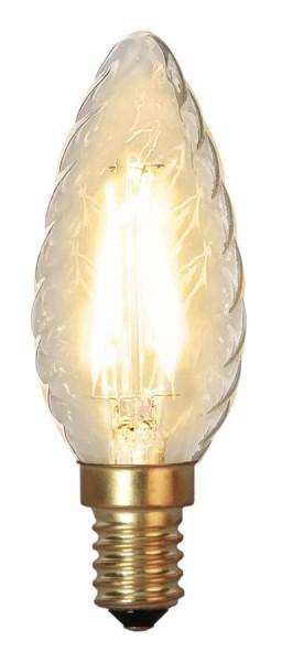 LED Kerzenlampe FILA GLOW - TC35 - E14 - 1,5W - warmweiss 2100K - 120lm - klar