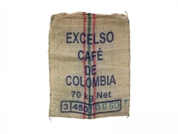 Kaffeesack zur Dekoration, gebraucht, sortiert