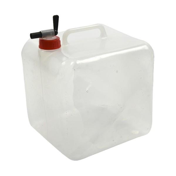 Faltkanister 10 Liter - Wasserkanister mit Auslaufhahn und Griff