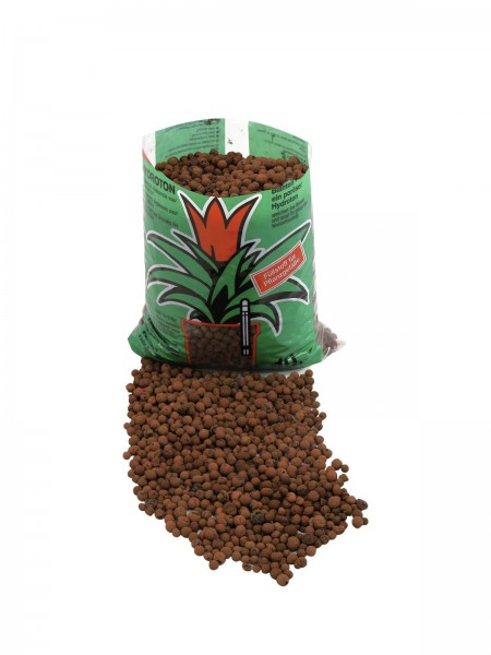 Hydroton Blähton-Kugeln, braun - Füllmaterial für Hydrokulturen - 10 Liter Sack