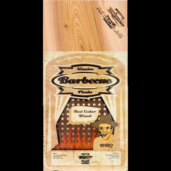 Axtschlag Wood Planke Red Cedar