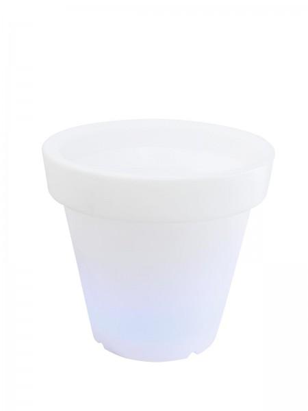 Pflanztopf mit LED Farbwechsel - Fernbedienung - für Außen IP44
