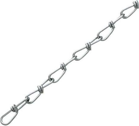 Knotenkette für Spiegelkugeln - Montagematerial - Sicherungskette - Stahlkette